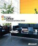 Office 2003. Office software includes Wode, Excel Outlook, Access, Publisher, Powerpoint and more