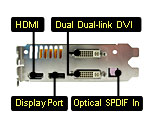 palit displayport hdmi spdif in dual dvi link graphics card